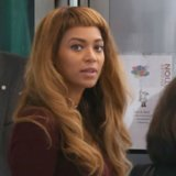 Beyonce's Short Bangs