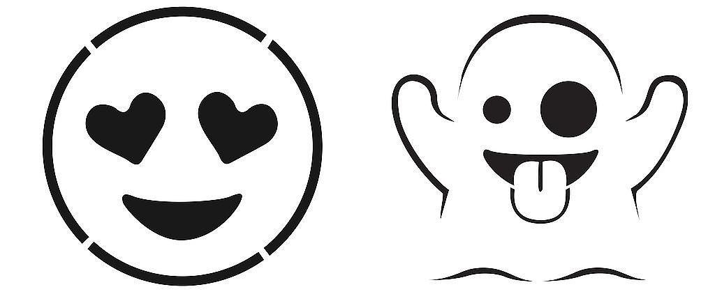 Emoji Pumpkin Templates