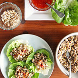 Chinese Chicken Lettuce Wraps | No Carbs