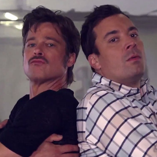 This Is What Happens When Brad Pitt and Jimmy Fallon Have a Danceoff