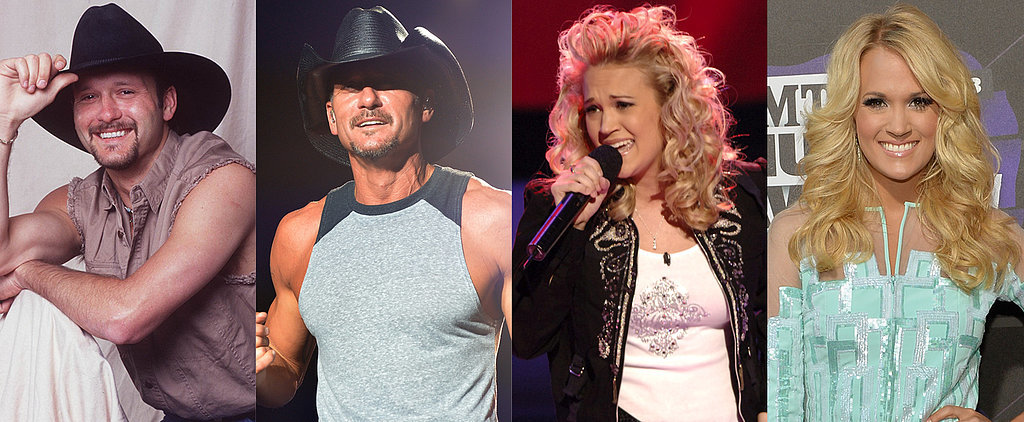 Your Favorite Country Stars — Then and Now