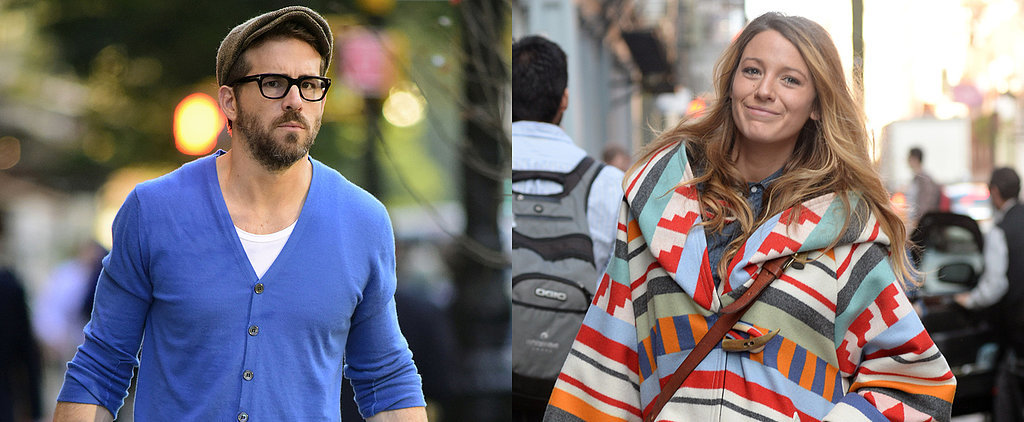Blake Lively and Ryan Reynolds Prep For Parenthood in NYC