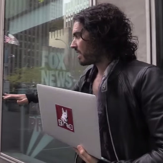 Russell Brand Threatened With Arrest at Fox News   Video