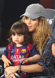 Warning: Shakira and Milan's Day of Soccer Might Be Too Cute to Handle