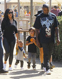 This Is How the Kardashian-Wests Get in the Halloween Spirit