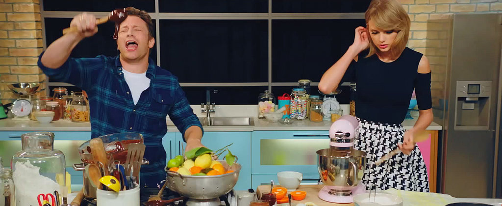 "Taylor Swift Is Not Impressed by Jamie Oliver's ""Bake It Off"" Parody"