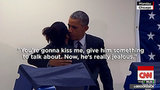 A Man in Chicago Told President Obama to Not Flirt With His Fiancee and It Was Amazing -- Watch Here