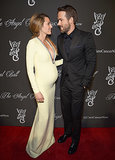 Blake Lively Shows Off Baby Bump, Cleavage While Ryan Reynolds Looks On Adoringly