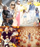 13 Celebrity Families Hit The Pumpkin Patch