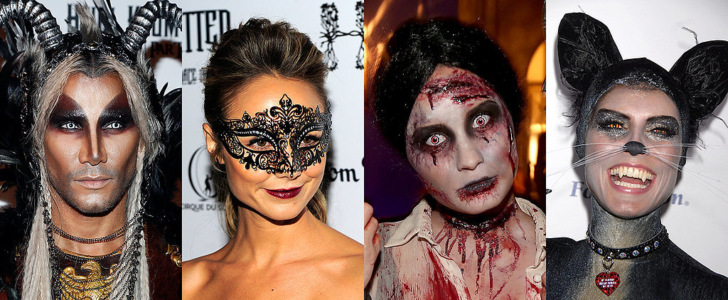 The Best Celebrity Halloween Makeup Looks of All Time