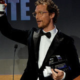 Matthew McConaughey American Cinematheque Awards