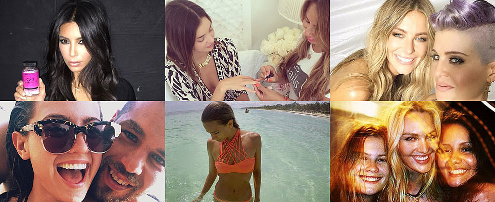 The Insta-Edit: Miranda, Candice, Kim & More!