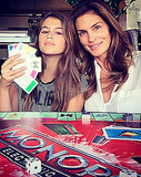 Cindy Crawford Shares Adorable Photo With Mini-Me Daughter Kaia, 13 -- See Their Identical Looks!