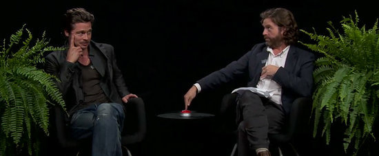 "Zach Galifianakis Goes There While ""Interviewing"" Brad Pitt on Between Two Ferns"