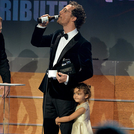 Matthew McConaughey's Adorable Daughter Steals the Spotlight