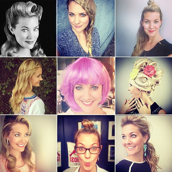 Hairstylist Sarah Potempa 100-Day Instagram Hair Challenge