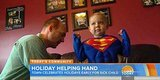 Town Holds Early Halloween, Christmas For Boy With Cancer Who Has Just Weeks To Live