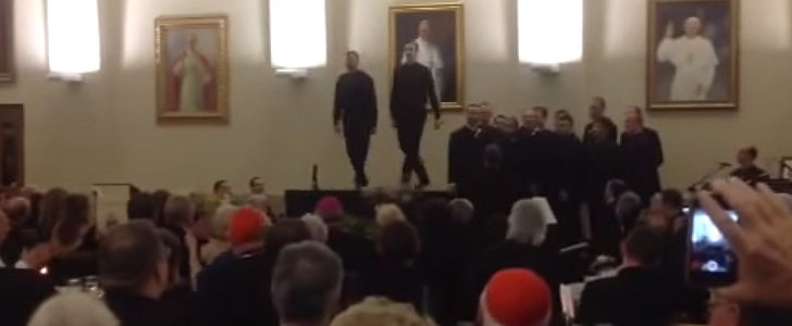 That Time Two Priests Hit the Stage For an Impressive Dance-Off