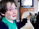The Daily Treat: Ready the Tissues and Watch 2 Boys Tearfully Reunite with Their Missing Cat