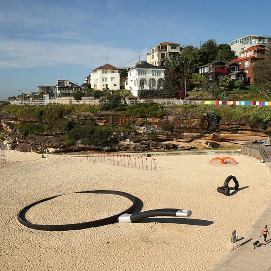 Pictures of 2014 Sculptures by the Sea at Bondi Beach