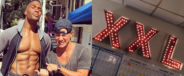 Excited About Magic Mike XXL? Here's Your Shirtless Behind-the-Scenes Peek