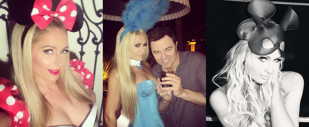 Paris Hilton Proves She Wants to Be the Queen of Halloween
