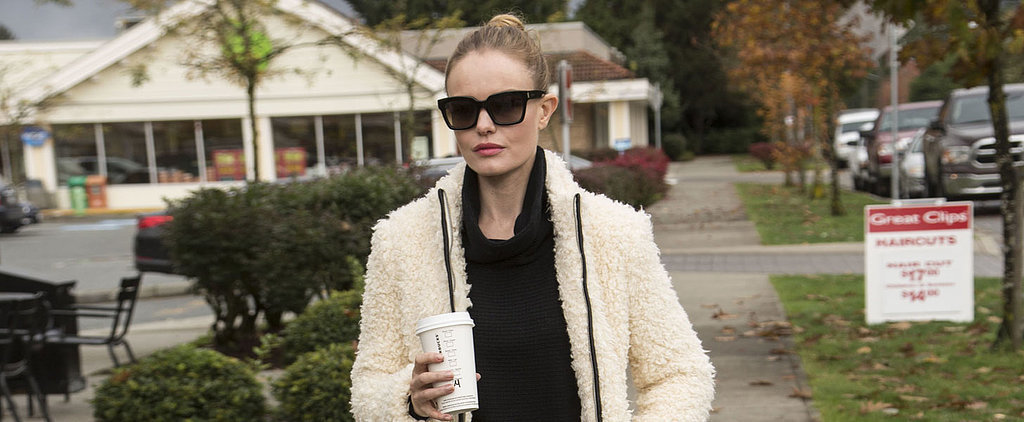 Kate Bosworth's Banana Republic Coat Only Looks High Fashion
