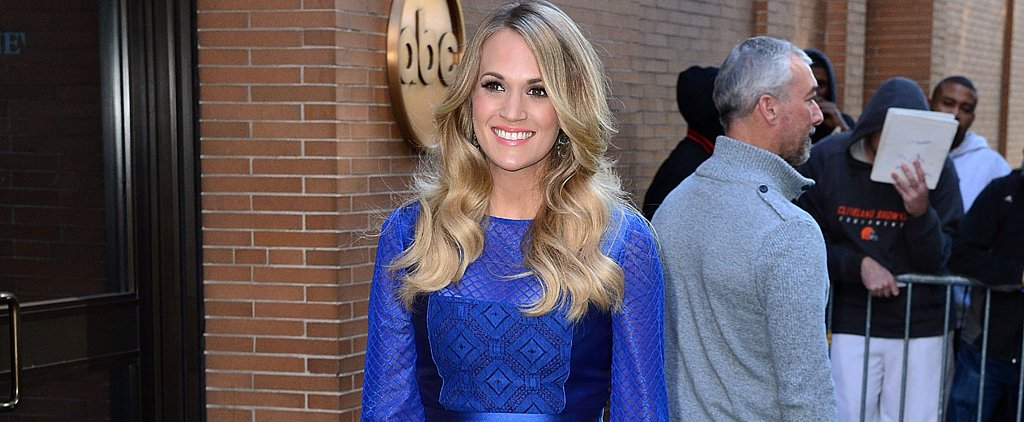 We Just Got Our First Glimpse of Carrie Underwood's Pregnancy Style