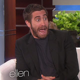 Jake Gyllenhaal Scared on The Ellen DeGeneres Show