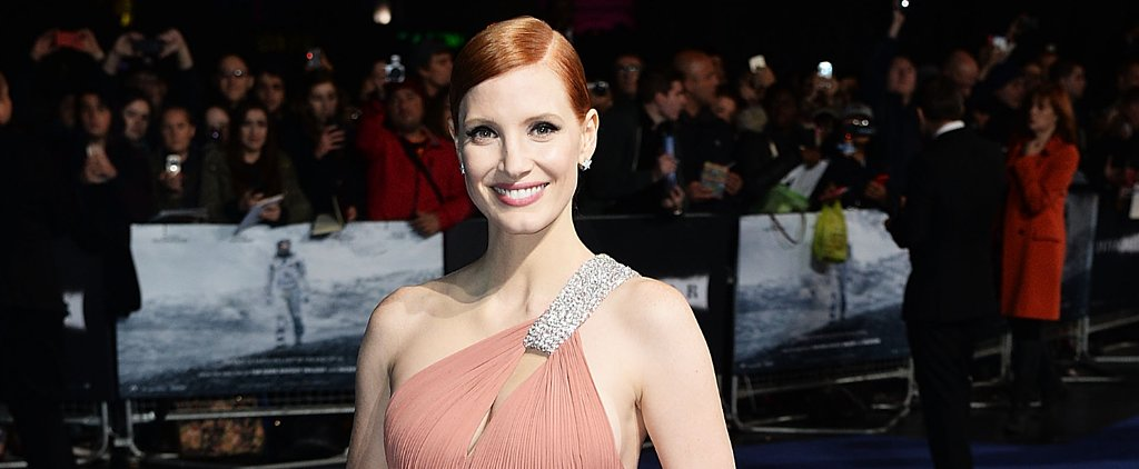 Jessica Chastain Gave Us Old-Hollywood Flashbacks at the Interstellar Premiere