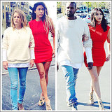 What Would Yeezus Wear? Two Friends Dress Like Kim Kardashian, Kanye West for Hilarious Blog