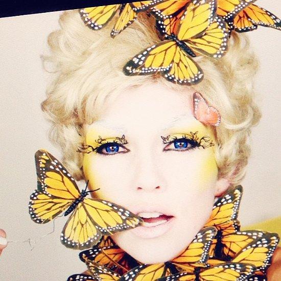 Kandee Johnson Celebrity Halloween Makeup