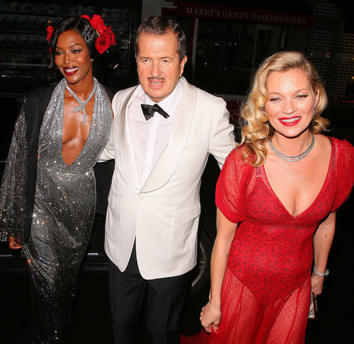 Celebrities at Mario Testino's Birthday Party | Pictures