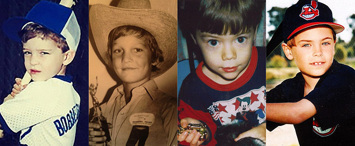 The Cutest Throwback Snaps From Hot Hollywood Guys