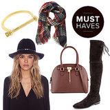 Fall Fashion Shopping Guide | November 2014