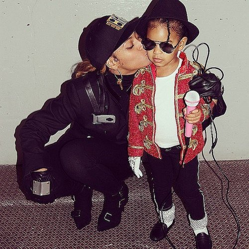 Celebrity Family Halloween Pictures 2014