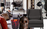 Room Envy: A Spooktacular Eclectic Living Room That is Beyond Chic