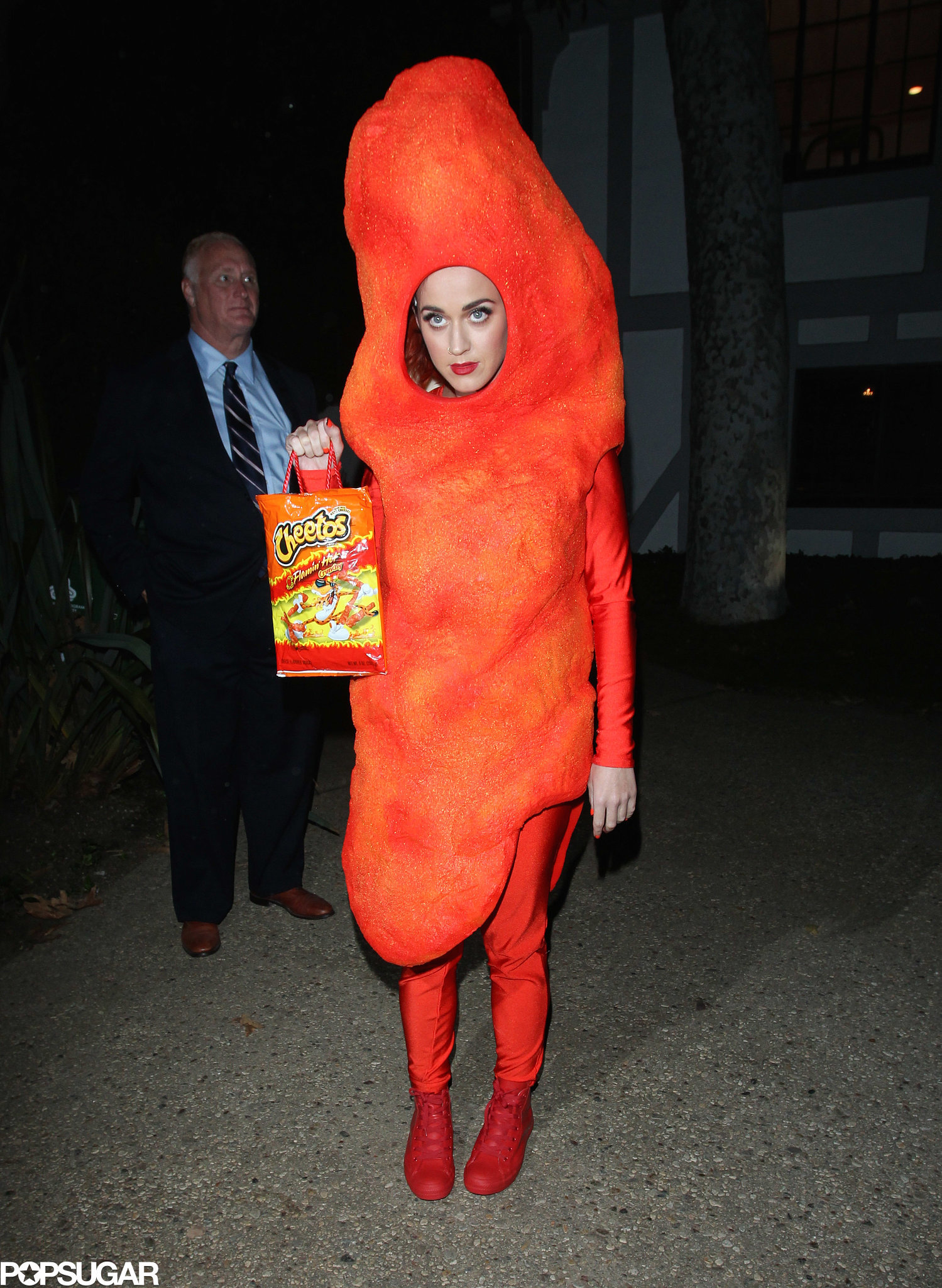 Oct 31,  · Katy Perry Turns Into a Flaming Hot Cheeto for Halloween Katy Perry is bright orange while dressing up as a Flaming Hot Cheeto to attend .