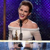 The Forever Flawless Emma Watson Dedicated an Award to Her Dead Hamster
