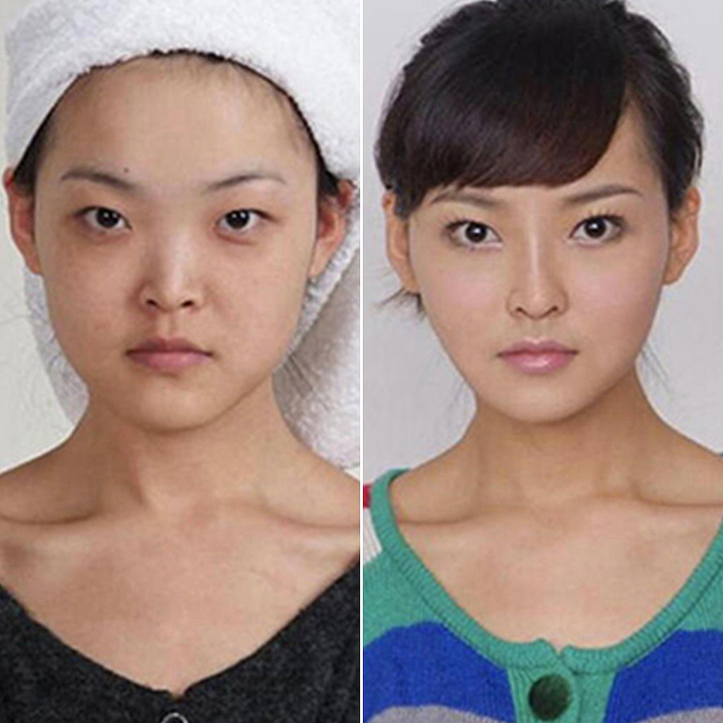 makeup before and after korean - photo #27