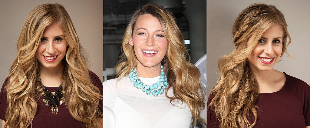 Copy Blake Lively's Waves and Braids For Your Next Holiday Party