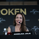 Angelina Jolie at Unbroken Press Conference in Sydney