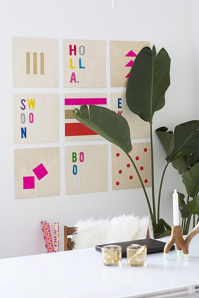 Diy Wall Art That Looks Expensive : Wooden wall art diy home gifts that only look