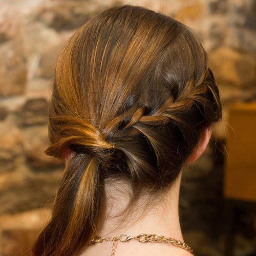 DIY Braided Ponytail