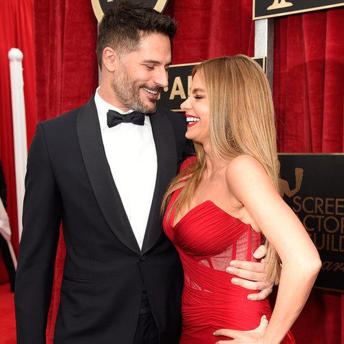 Sofia Vergara and Joe Manganiello at the SAG Awards 2015