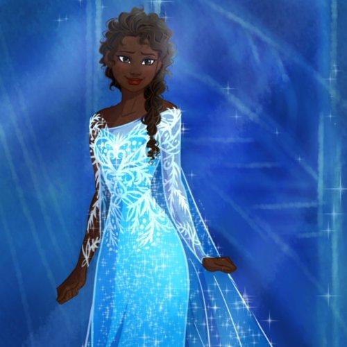 Disney Princesses of Different Races