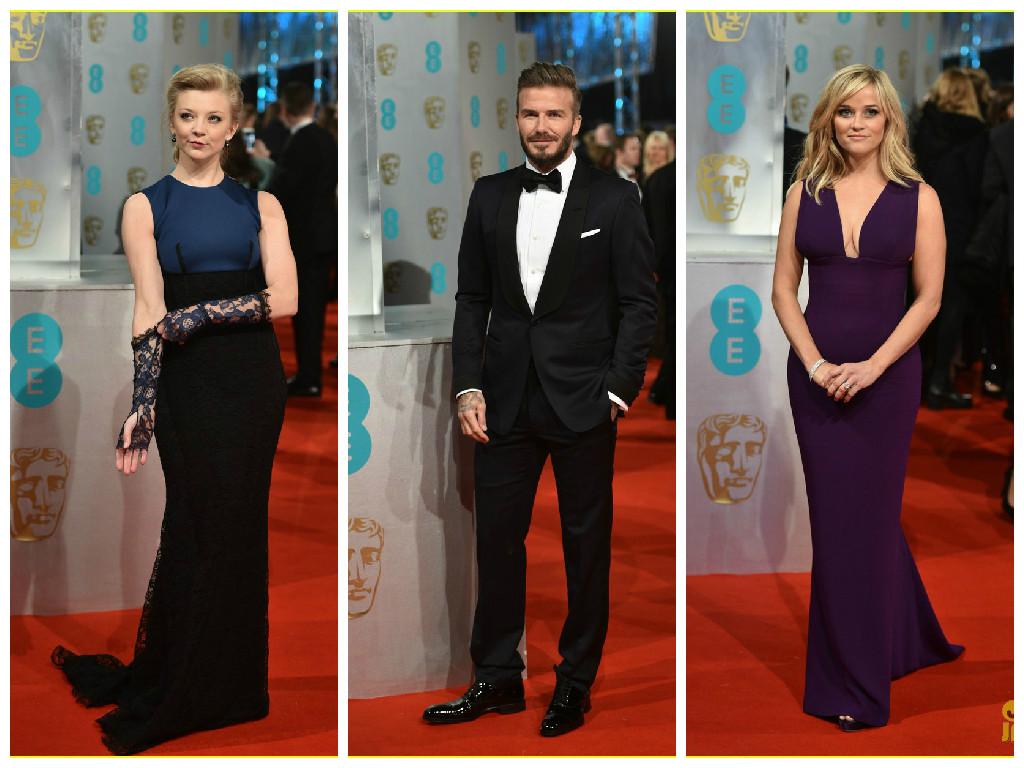 Natalie Dormer David Beckham Reese Witherspoon BAFTA