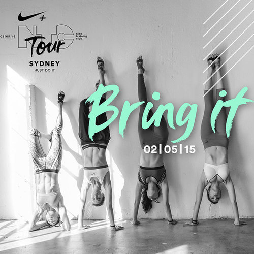 Register For NIKE + Training Club (N+TC) Tour Sydney