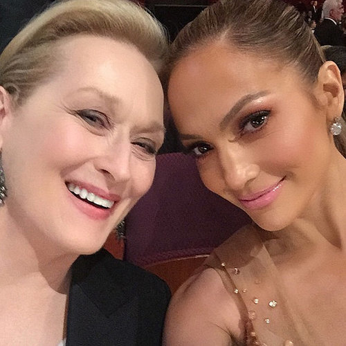 Jennifer Lopez's Instagram Pictures From 2015 Oscars
