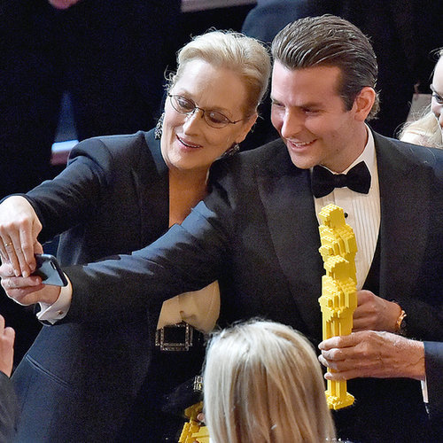 Celebrities Inside the Oscars Pictures 2015